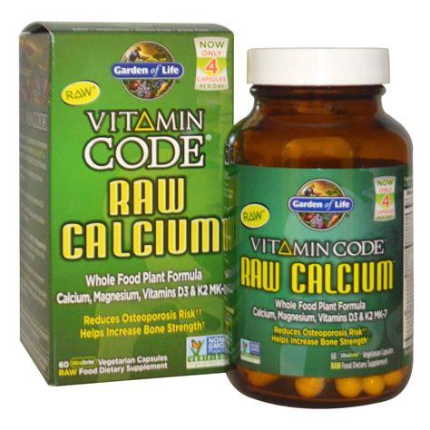 Garden Of Vitamin Code Garden Of Vitamin Code Calcium 60 Veggie Caps