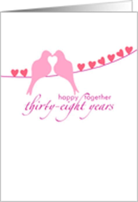 38th Wedding Anniversary Cards from Greeting Card Universe