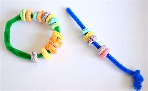 String For Children - motor stringing things along