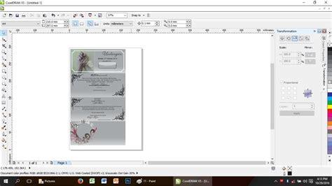 video tutorial membuat undangan dengan corel draw garudacreative tutorial membuat undangan di corel draw