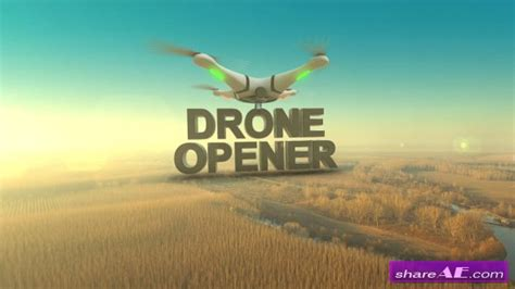 Drone 187 Free After Effects Templates After Effects Intro Template Shareae Drone Intro Template