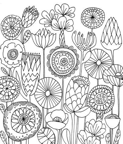 flower doodle coloring pages 278 best images about doodle flowers on