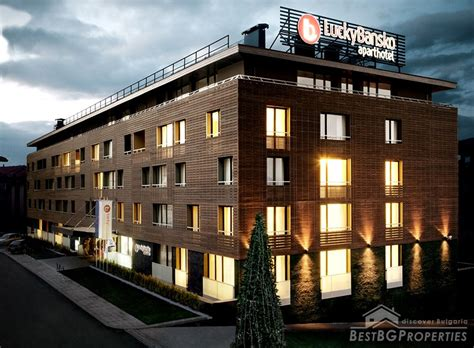 apartamentos ski apartments in ski resort bansko