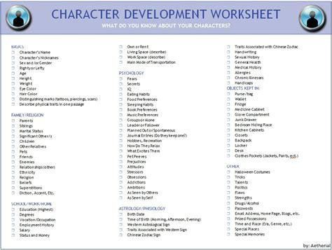 character profile template drama image character development worksheet jpg millard high