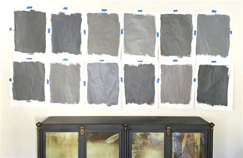 coordinating colors with slate gray top row paints l to r kendall charcoal charcoal slate