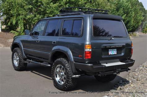 Wandschrank 80 X 80 by 1992 Toyota Land Cruiser J80 Fj80 I6 4wd Ac Pw 4x4 80
