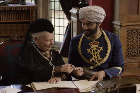 film queen victoria and abdul karim victoria and abdul trailer ali fazal and judi dench share