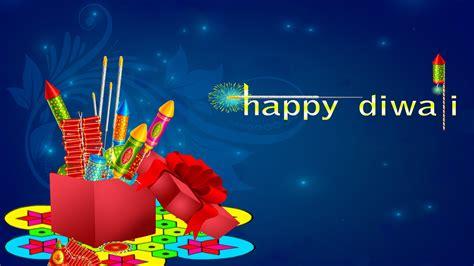 happy diwali colorful crackers blue background desktop hd wallpaper  mobile phones tablet
