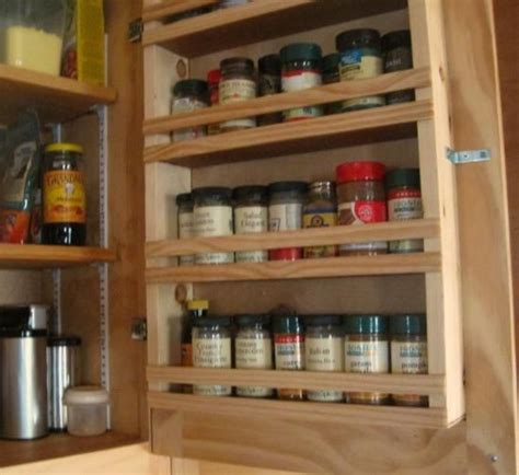 inside cabinet door spice rack spice rack for inside cabinet door organization
