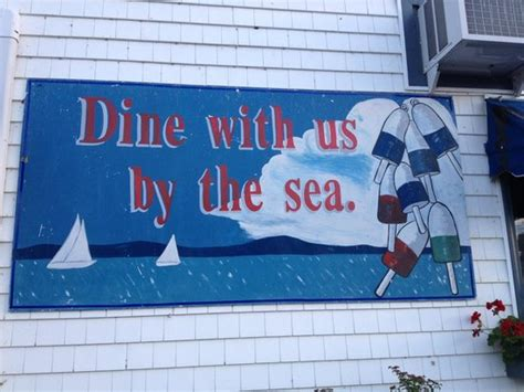 the chart room bar harbor signage out the front picture of chart room bar harbor tripadvisor