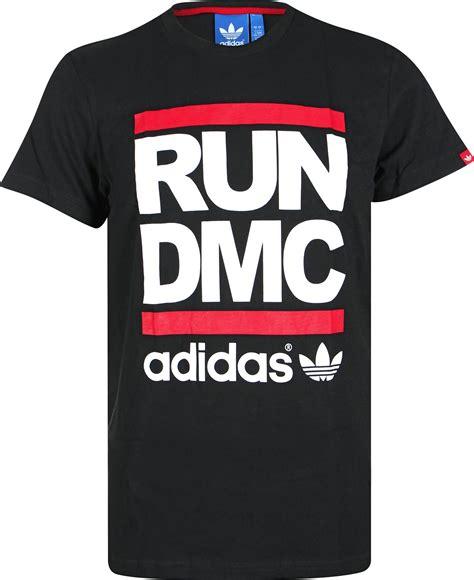T Shirt Run Dmc Adidas adidas run dmc t shirt noir