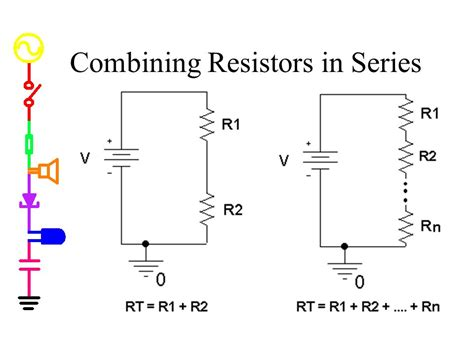 combining resistors in parallel has the result of experiment 1 part a circuit basics equipment sound waves ppt