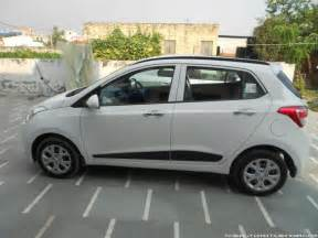 hyundai grand i10 sportz my white