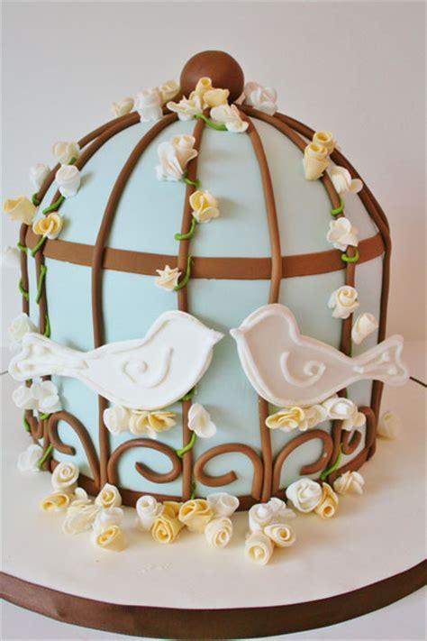 bridal shower cake design ideas bridal shower cakes new jersey birds birdcage custom cakes