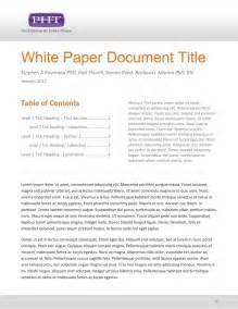 White Paper Template by White Paper Template Sadamatsu Hp