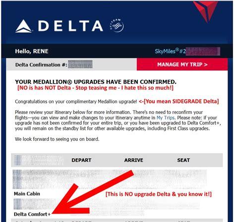 comfort email delta medallion sidegrade upgrage to comfort plus email