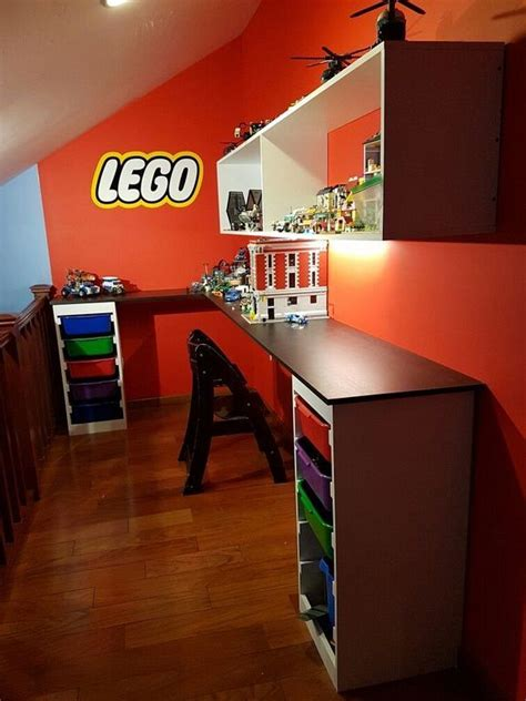 diy boys lego table design ideas  storage