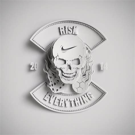 Nike Risk Everything Skull Iphone Samsung d 233 but risk everything nike crest by ilovedust
