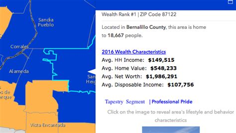 us metro area zip codes esri map wealthiest zip codes albuquerque business