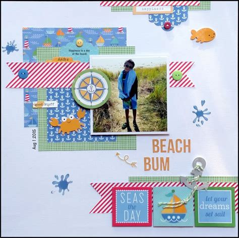 doodlebug anchors aweigh the scraproom doodlebug quot anchors aweigh quot page kit