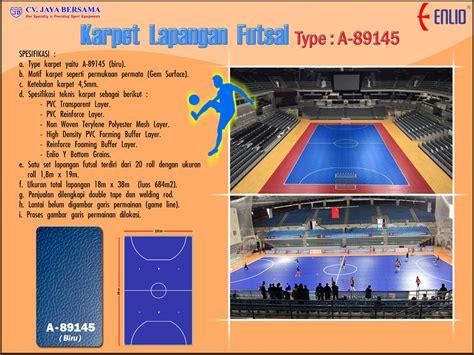 Karpet Lantai Futsal karpet lapangan futsal distributor olahraga