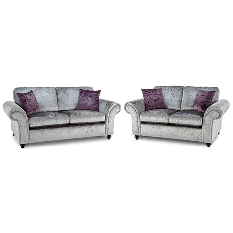 two suite sofa marilyn velvet 3 and 2 seater sofa suite next day