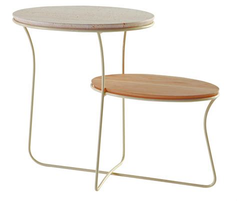 coffee table oris by roche bobois design christophe delcourt