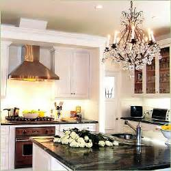 kitchen chandelier ideas chandelier kitchen light