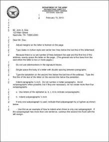 Best photos of army letter format military letter format example