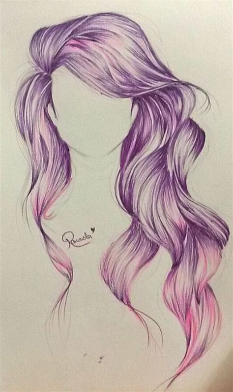 cool hairstyles drawing best 25 drawing hair ideas on pinterest hair sketch
