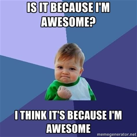 Im Awesome Meme - pin by ruby jones on i know i m awesome pinterest