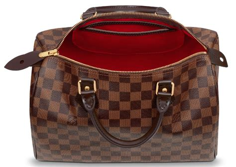 Lv Speedybag comparison between the new and louis vuitton speedy
