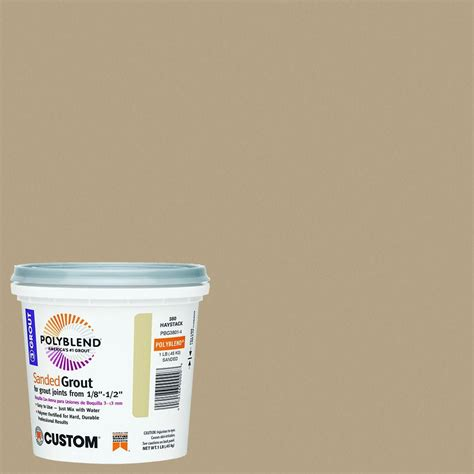 custom building products polyblend 546 cape gray 10 lb