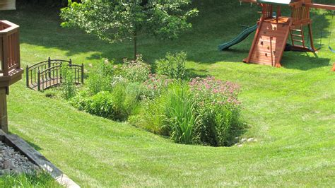 how to landscape a backyard garden design construction in arbor mi