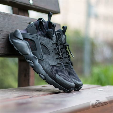 Nike Huarache Run Ultra Black White Premium Quality nike air huarache run ultra br black black footshop