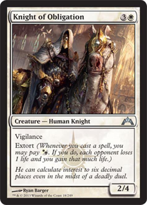 Orzhov knight of obligation