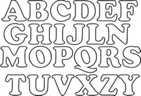 moldes de letras del abecedario para imprimir imagui letras del alfabeto moldes imagui