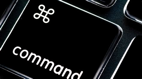 commands in the origin of the apple command icon tested