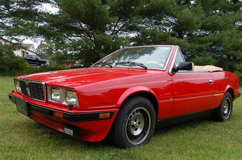 1987 Maserati Biturbo For Sale by 1987 Maserati Biturbo Spyder 5 Speed For Sale