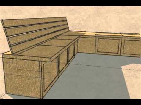 Dining Room With Bench by Built In Kitchen Bench Seat Storage Youtube