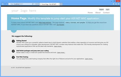 mvc templates asp net mvc 4 fundamentals the asp net site