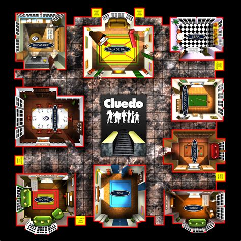 what are the rooms in cluedo i like files descargar cluedo