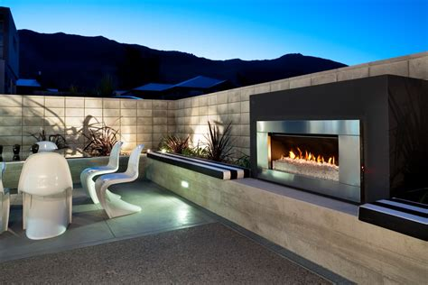 modern outdoor fireplace contemporary outdoor fireplace plans fireplace design ideas