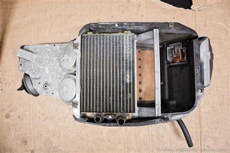 replace 174 cadillac fleetwood 1986 heater core 97 cadillac eldorado heater core removal