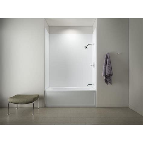 kohler 72 inch bathtub kohler archer 5 ft right drain tub with choreograph 72 in
