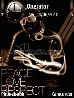 nokia 6120 themes love love and peace free nokia 6120 classic theme download