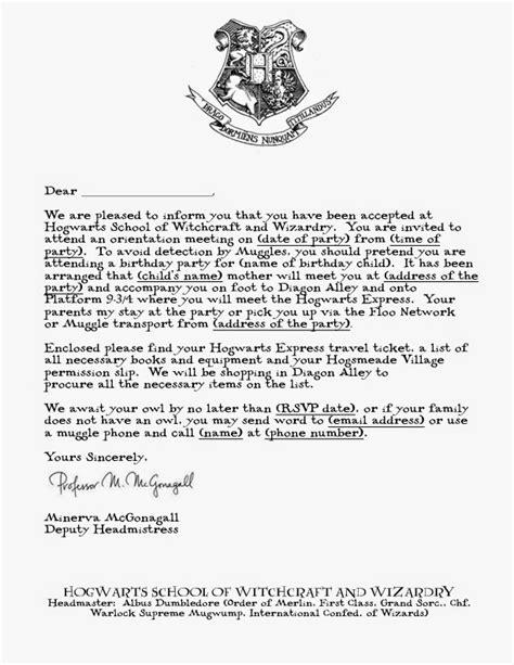 printable hogwarts invitation template mandys