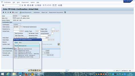 tutorial sap pm sap maintenance order tutorial free sap pm training