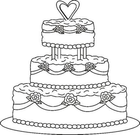 blank cake coloring page excellent birthday cake coloring page coloring pages cakes