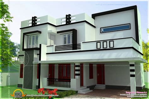 simple house design with floor plan